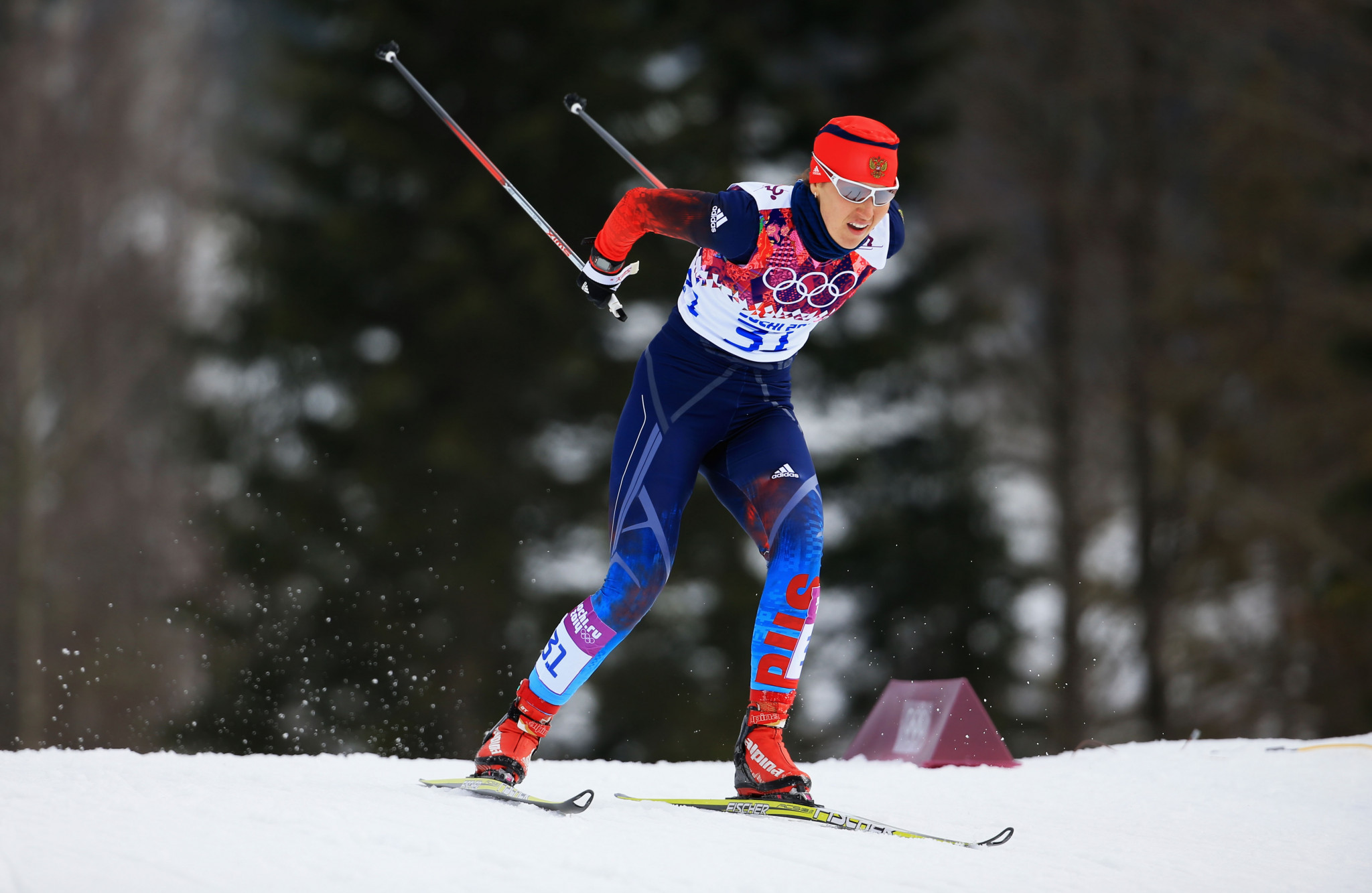 Anastasia Dotsenko has also appealed after she was banned for life from the Olympics and disqualified from Sochi 2014 ©Getty Images