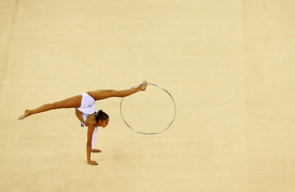 Margarita Mamun triumphed in Kazan at the Rhythmic Gymnastics World Cup ©Getty Images