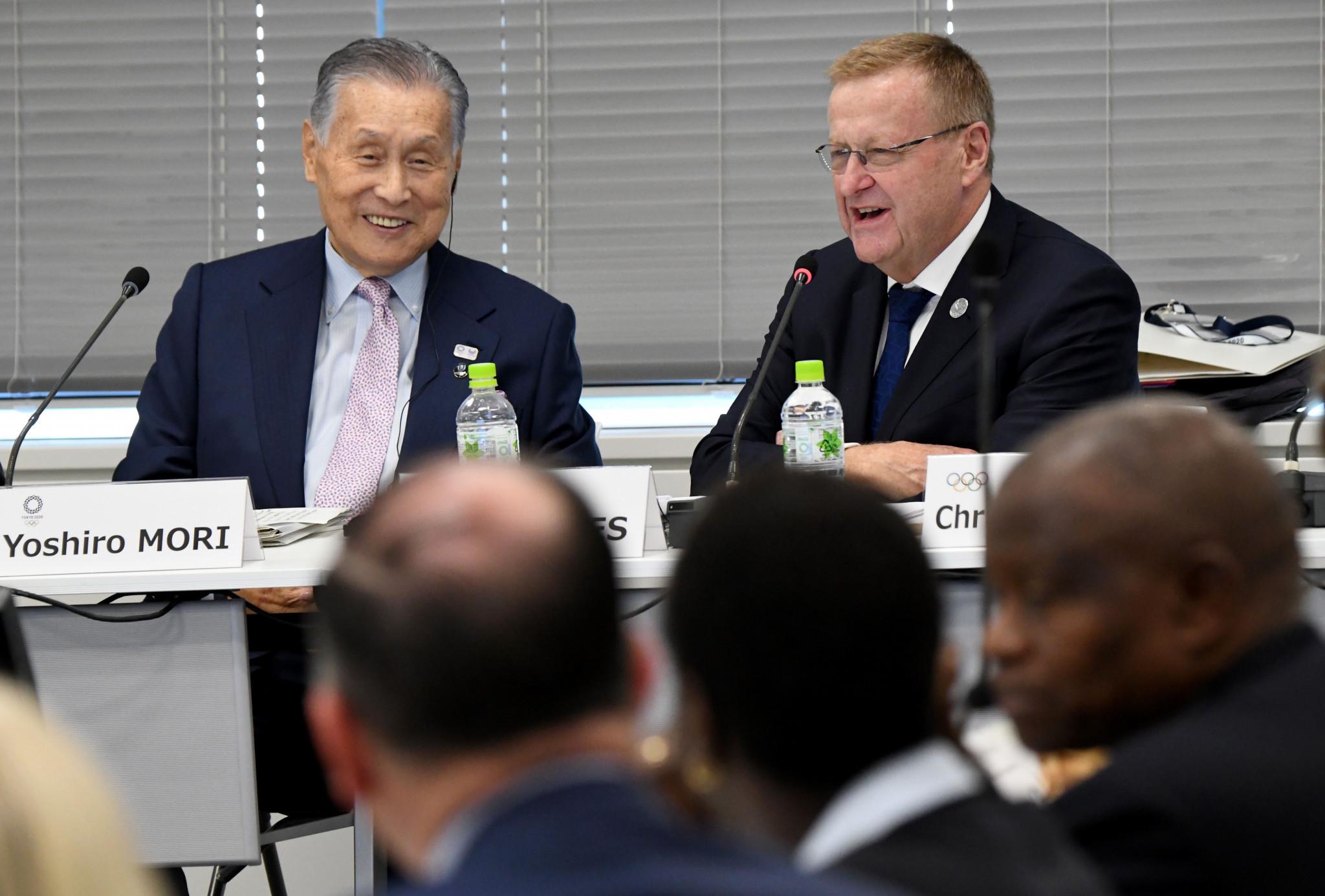 IOC Coordination Commission begin visit as schools begin Tokyo 2020 mascot vote