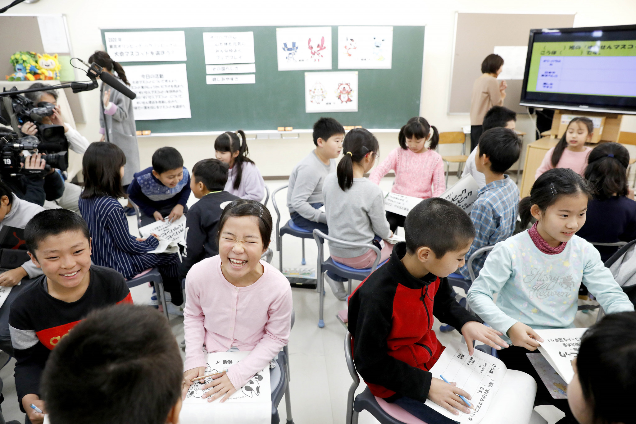 It is hoped the process will see children discuss the Olympic and Paralympic ideals ©Tokyo 2020