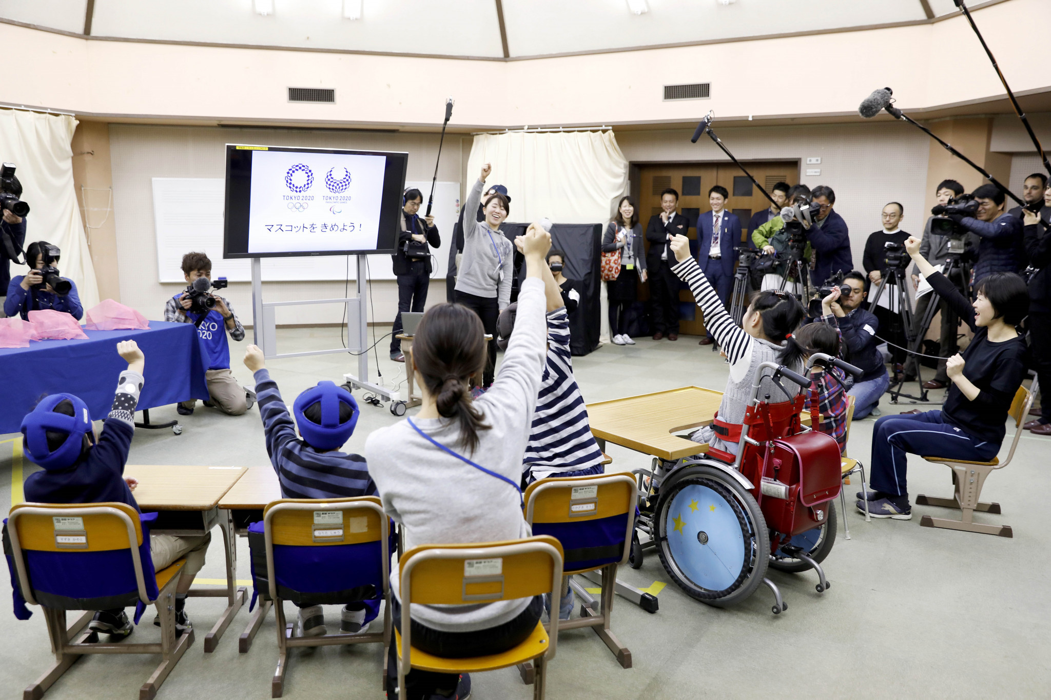 The winner of the school vote will be announced on February 28 ©Tokyo 2020