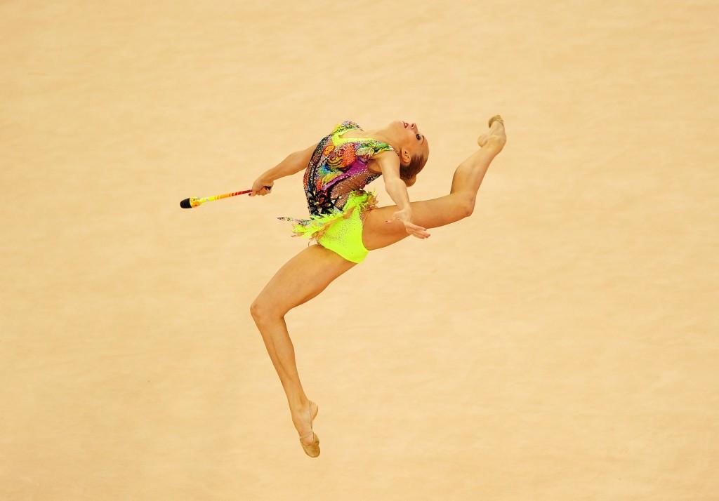 Yana Kudryavtseva was comfortably beaten by her compatriot in Baku ©Getty Images