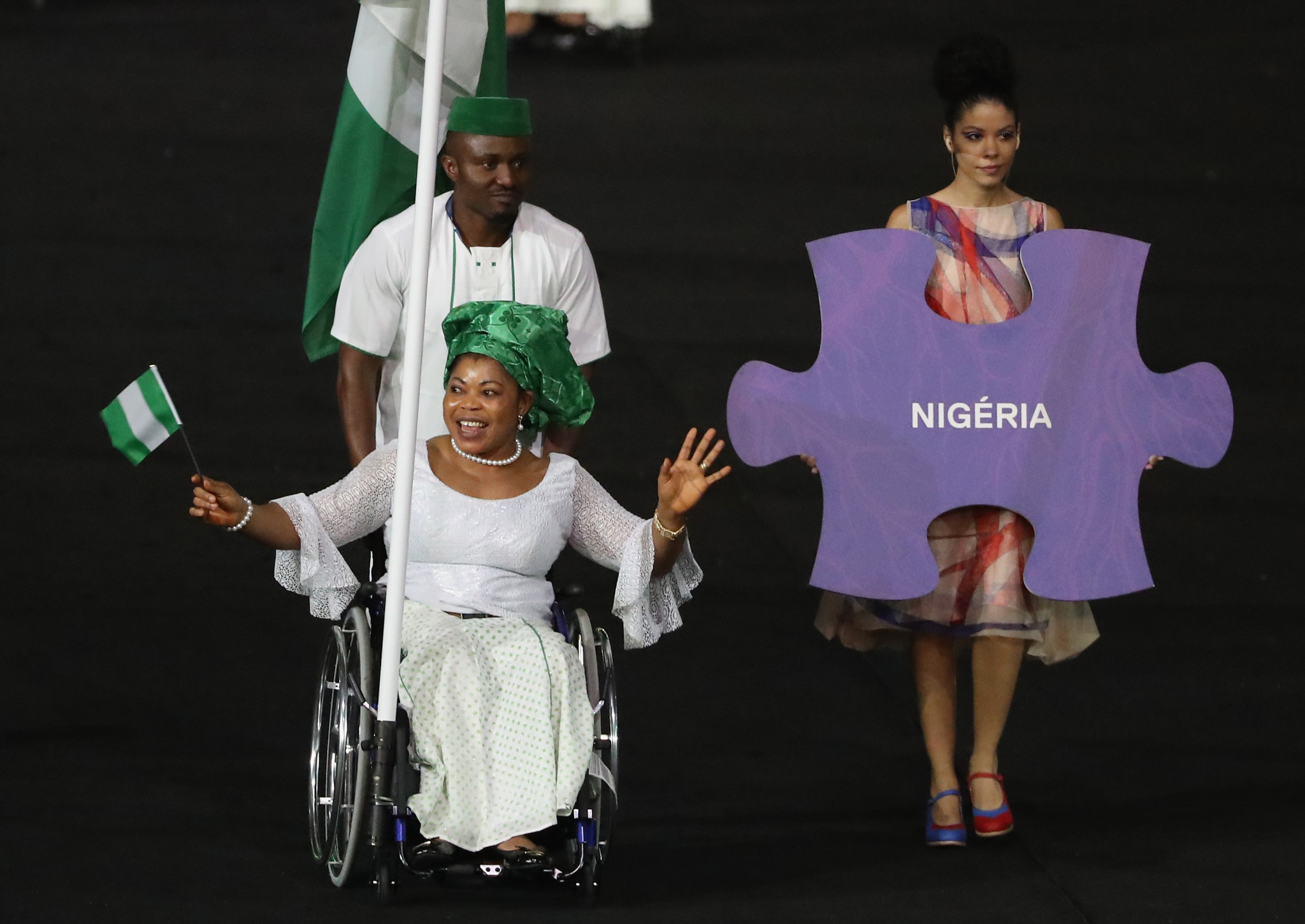 Nigeria's Rio 2016 gold medallist Lucy Ejike finished second in the voting ©Getty Images