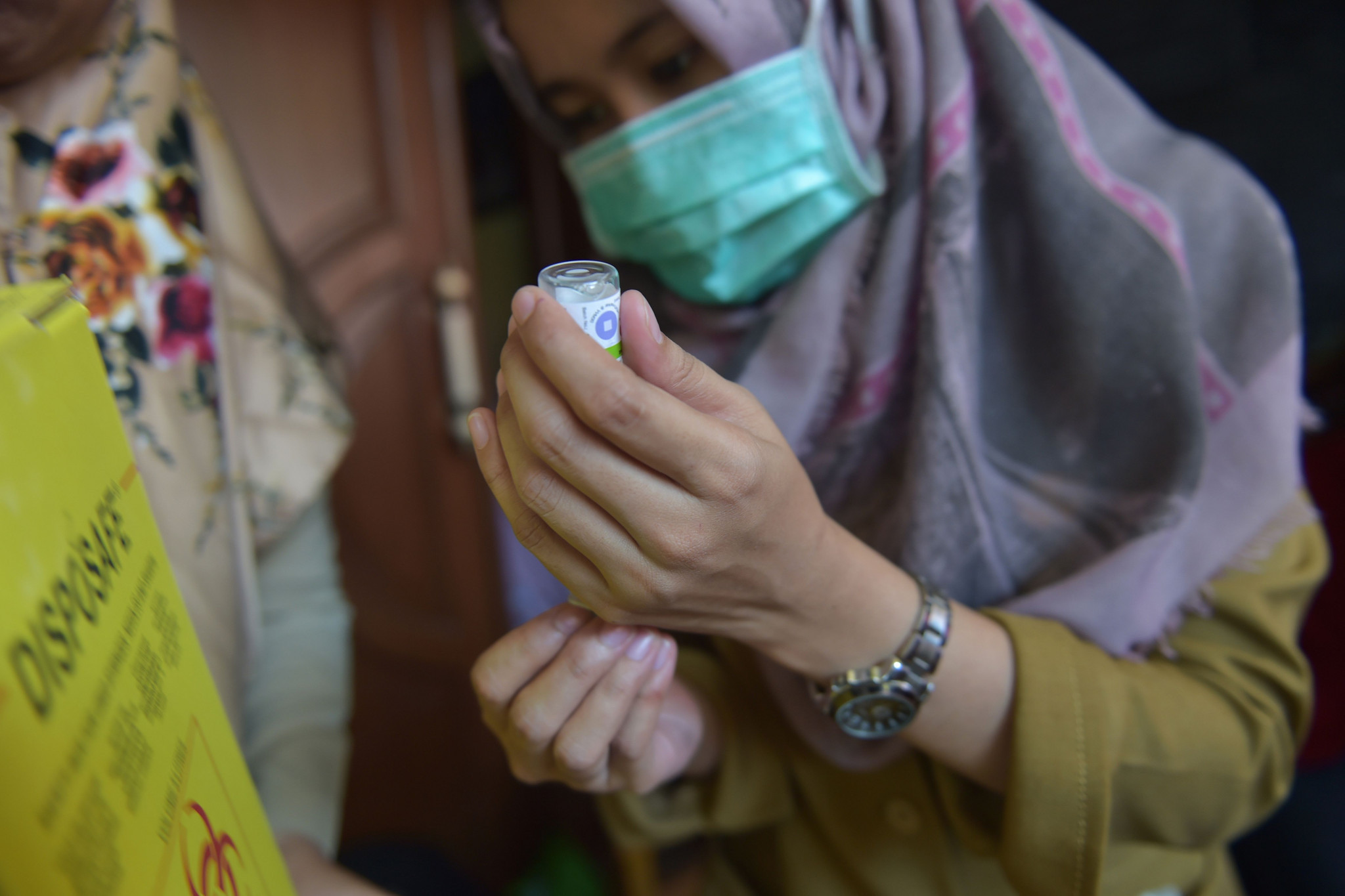 Immunisation programme launched in Jakarta after warning Asian Games faces diphtheria threat