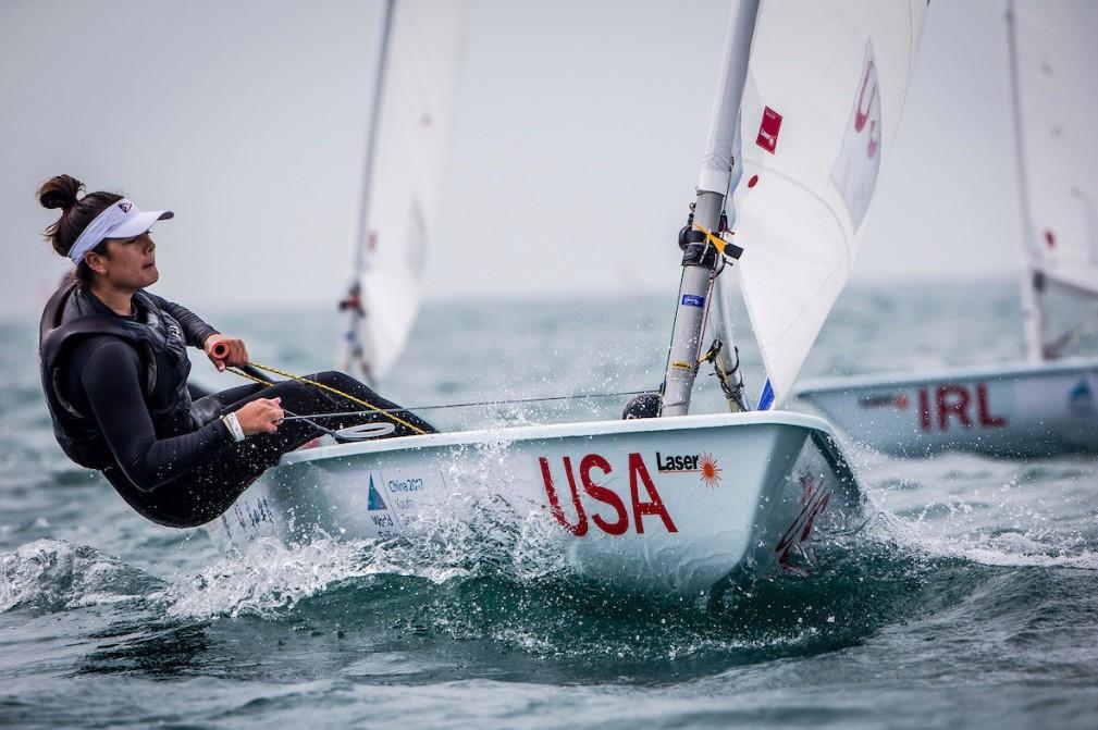 Rose dominates girl's Laser Radial at 2017 Youth Sailing World Championships