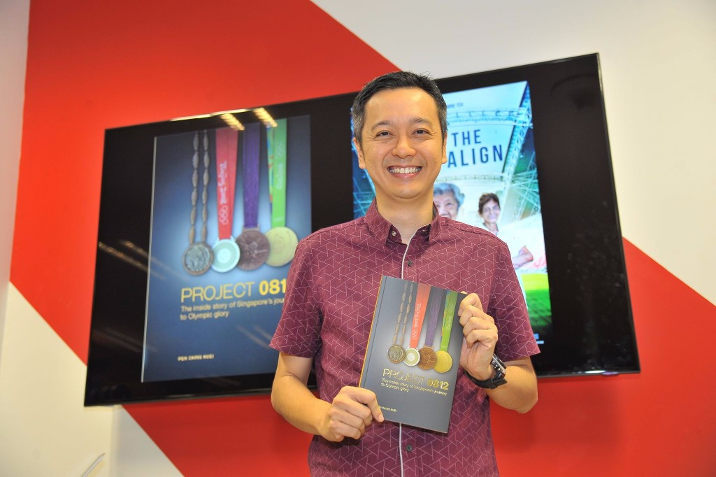 Singapore's Olympic heritage commemorated in book and documentary