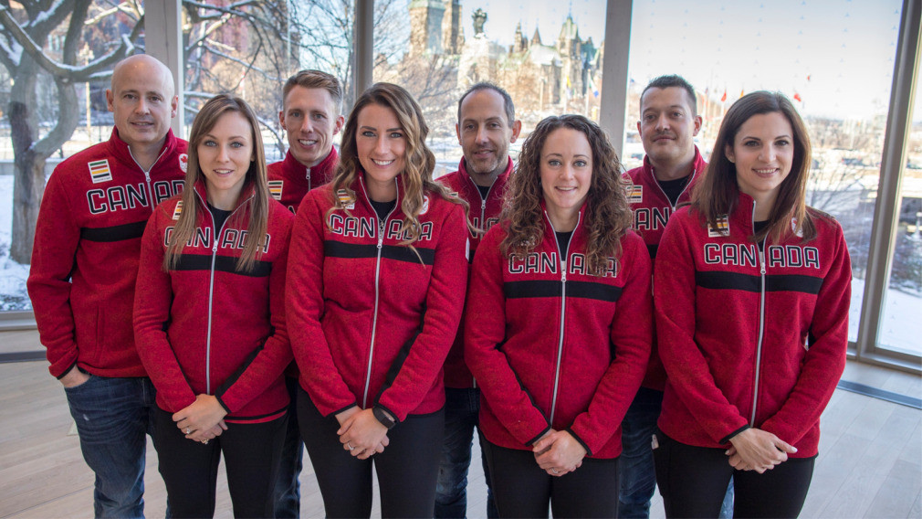 Canada have named their men's and women's curling teams for Pyeongchang 2018 ©Curling Canada