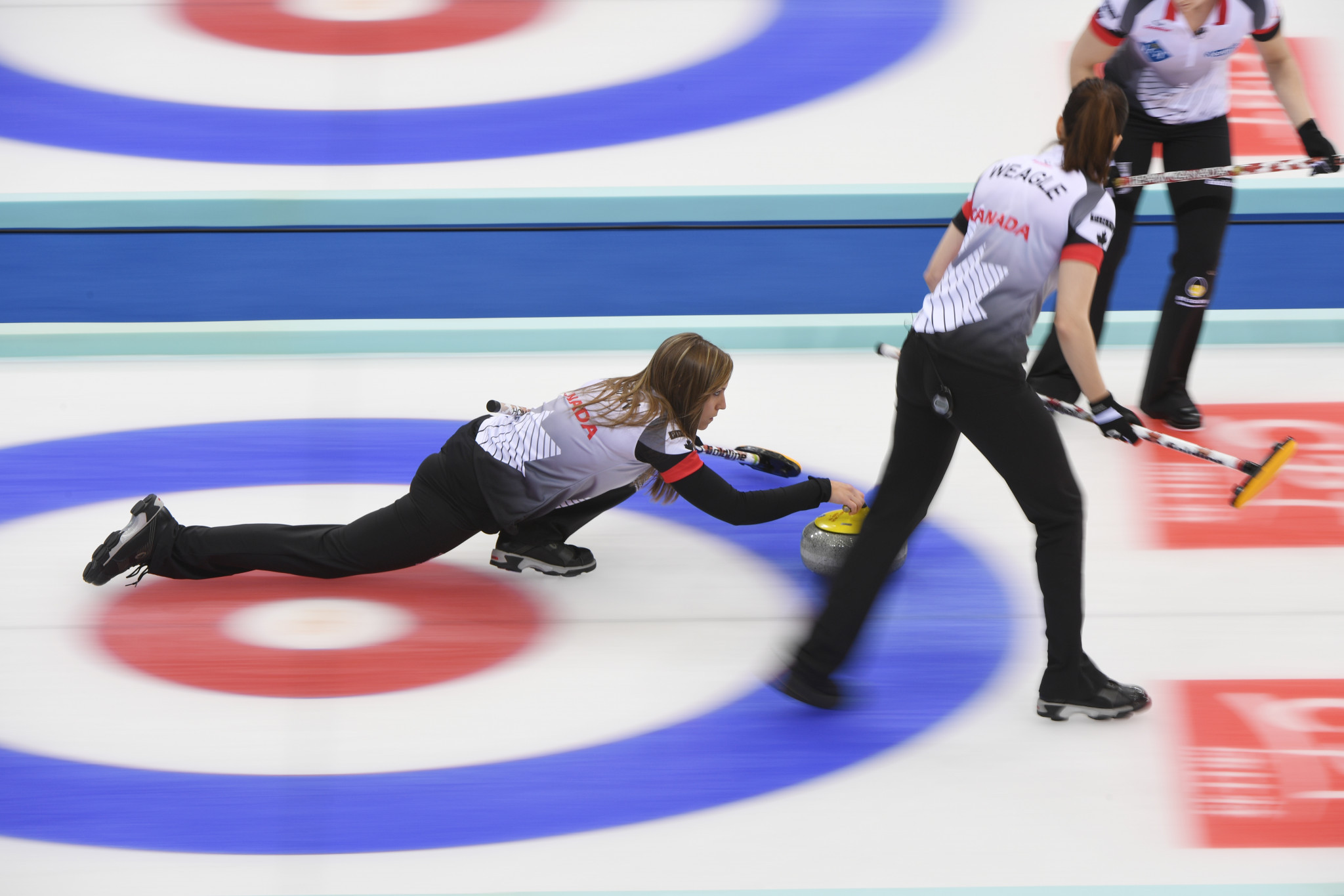Rachel Homan skipped Canada's women's team to gold at this year's World Championships in Beijing ©Getty Images