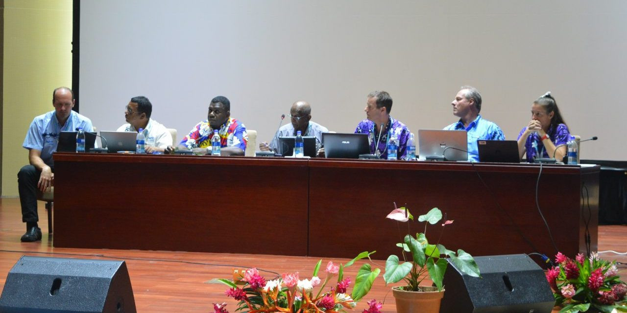 The General Assembly ratified the decision of the PGC Executive Board to award Samoa the 2019 Pacific Games ©Vanuatu 2017