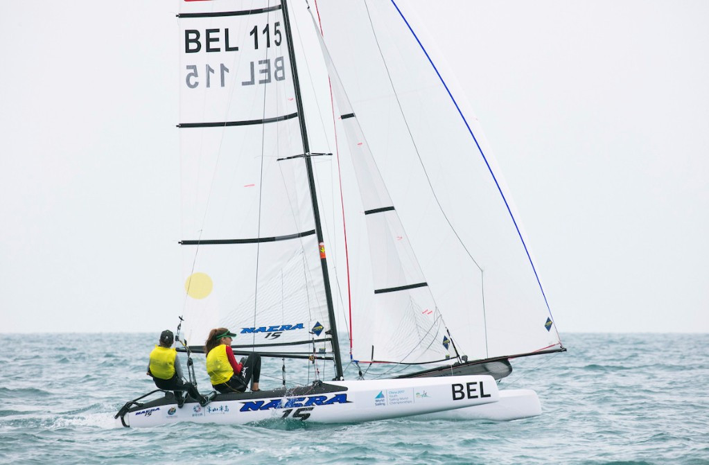 Young Belgians continue impressive form at 2017 Youth Sailing World Championships