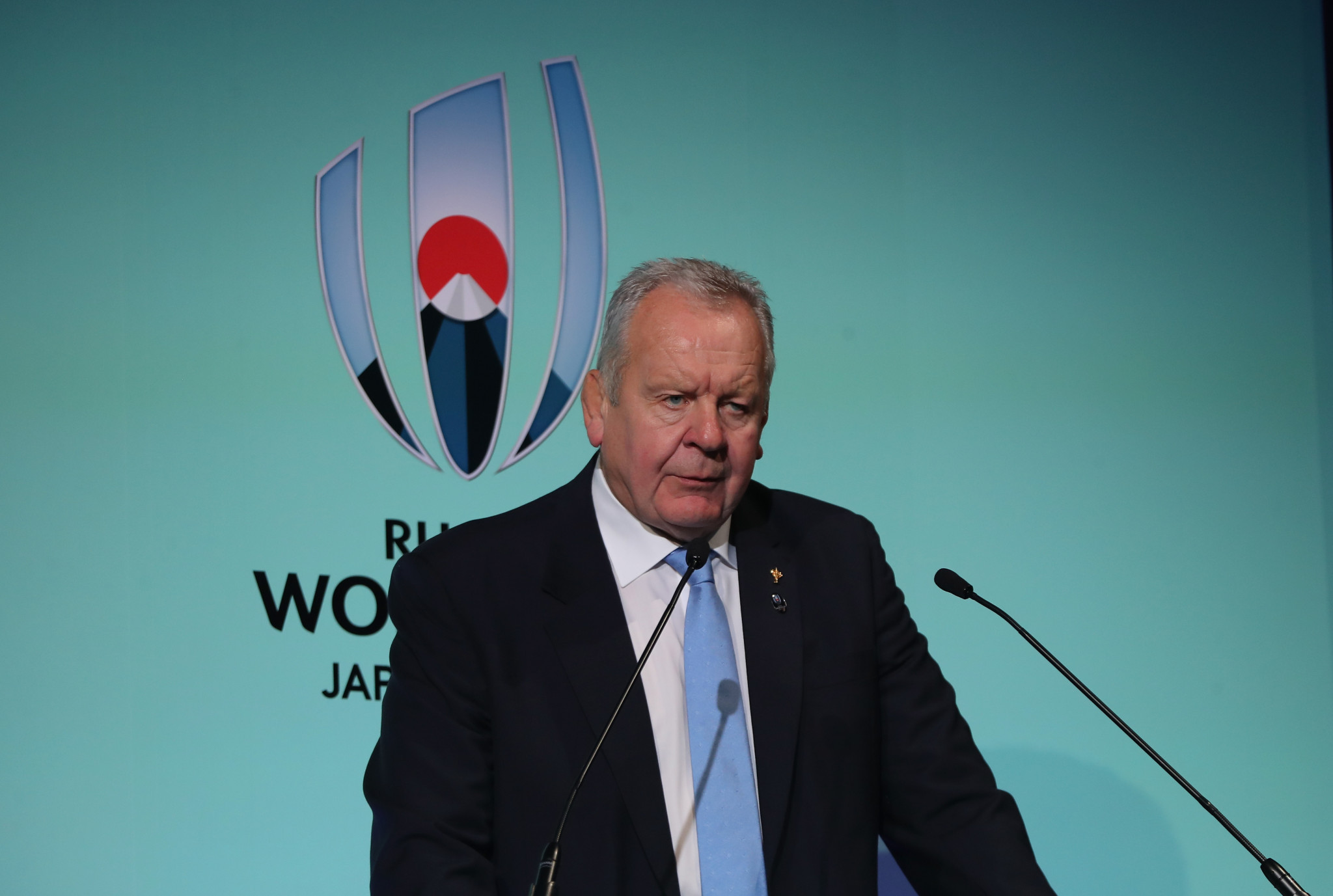 Bill Beaumont, President of World Rugby, sees the emergence of Costa Rica as vital to the growth of the sport globally ©Getty Images
