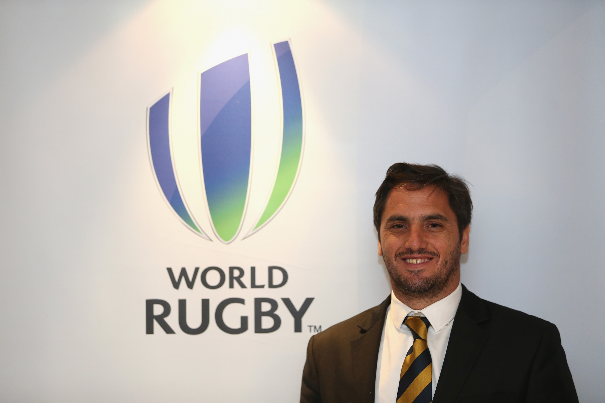 Agustin Pichot, the vice-chairman of World Rugby: