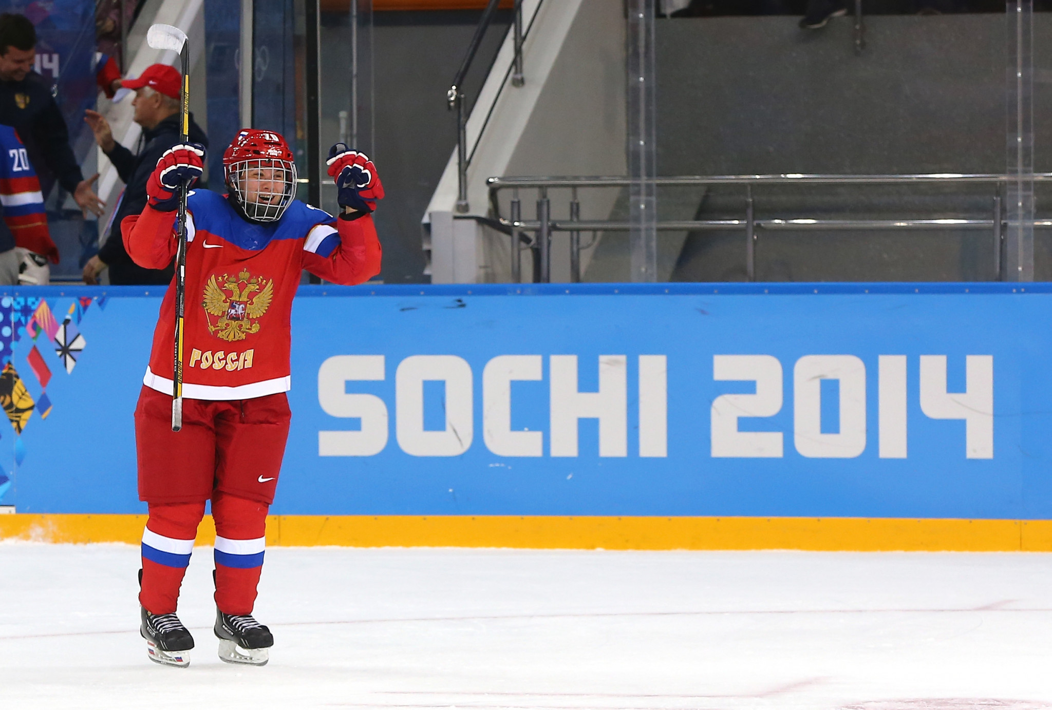 Anna Shibanova is among the six Russian ice hockey players sanctioned by the IOC ©Getty Images