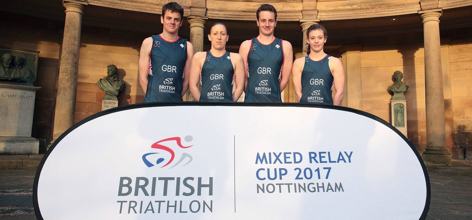Nottingham hosted the Mixed Relay Cup in September ©British Triathlon