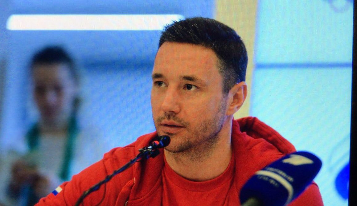Russia's ice hockey captain Ilya Kovalchuk promised they would try twice as hard at Pyeongchang 2018 to get a good result even if they are forced to play under a neutral flag and will not hear their national anthem if they win ©Twitter