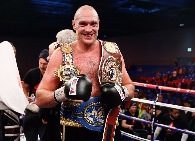 Tyson Fury is free to box again after compromising with UKAD ©Getty Images