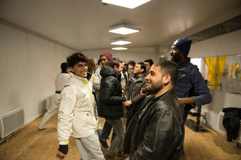 Around 40 refugees are taking part in weekly taekwondo sessions in Paris ©Paris City Hall