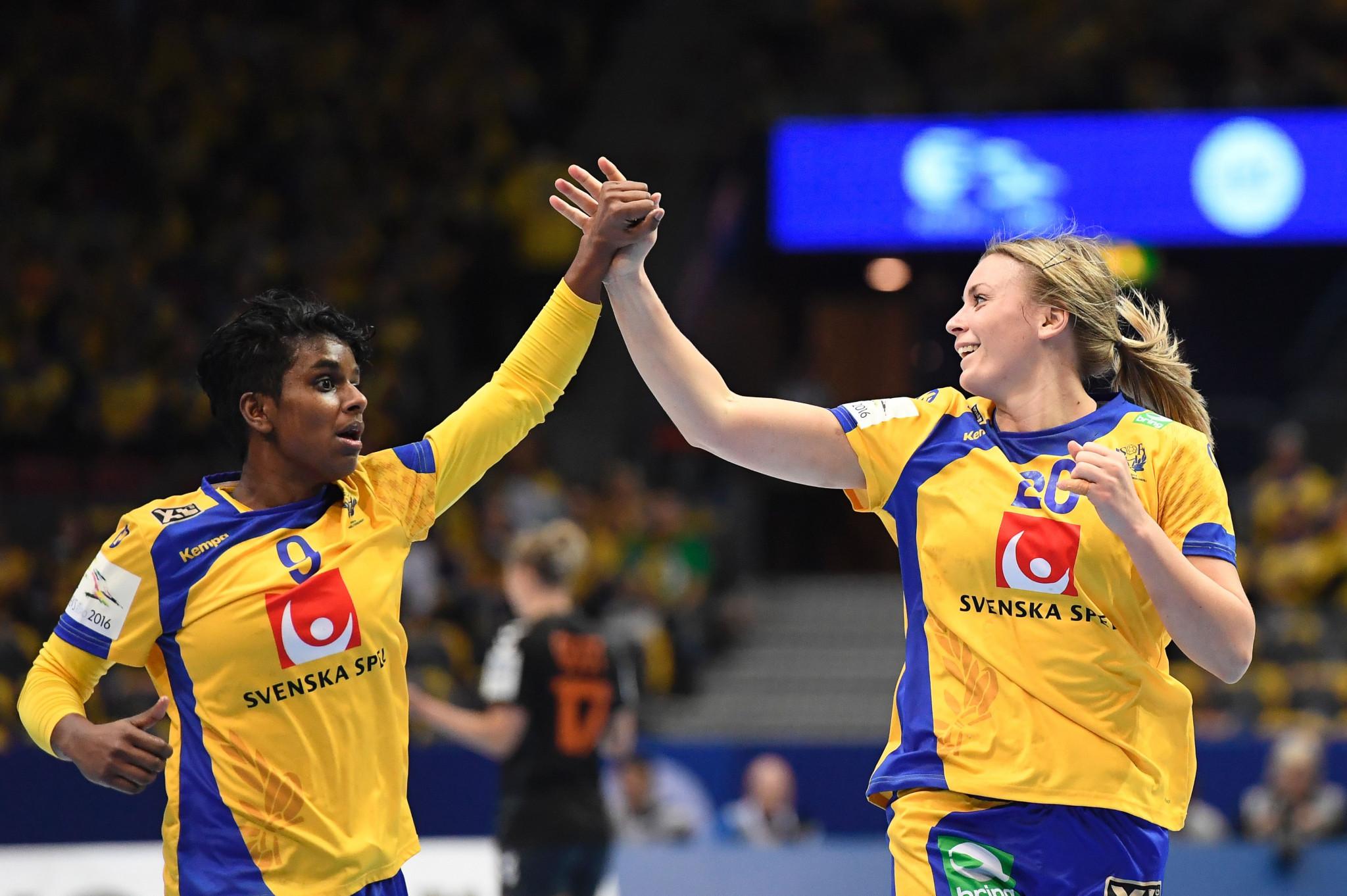 Sweden win Scandanavian clash at IHF Women's World Handball Championship