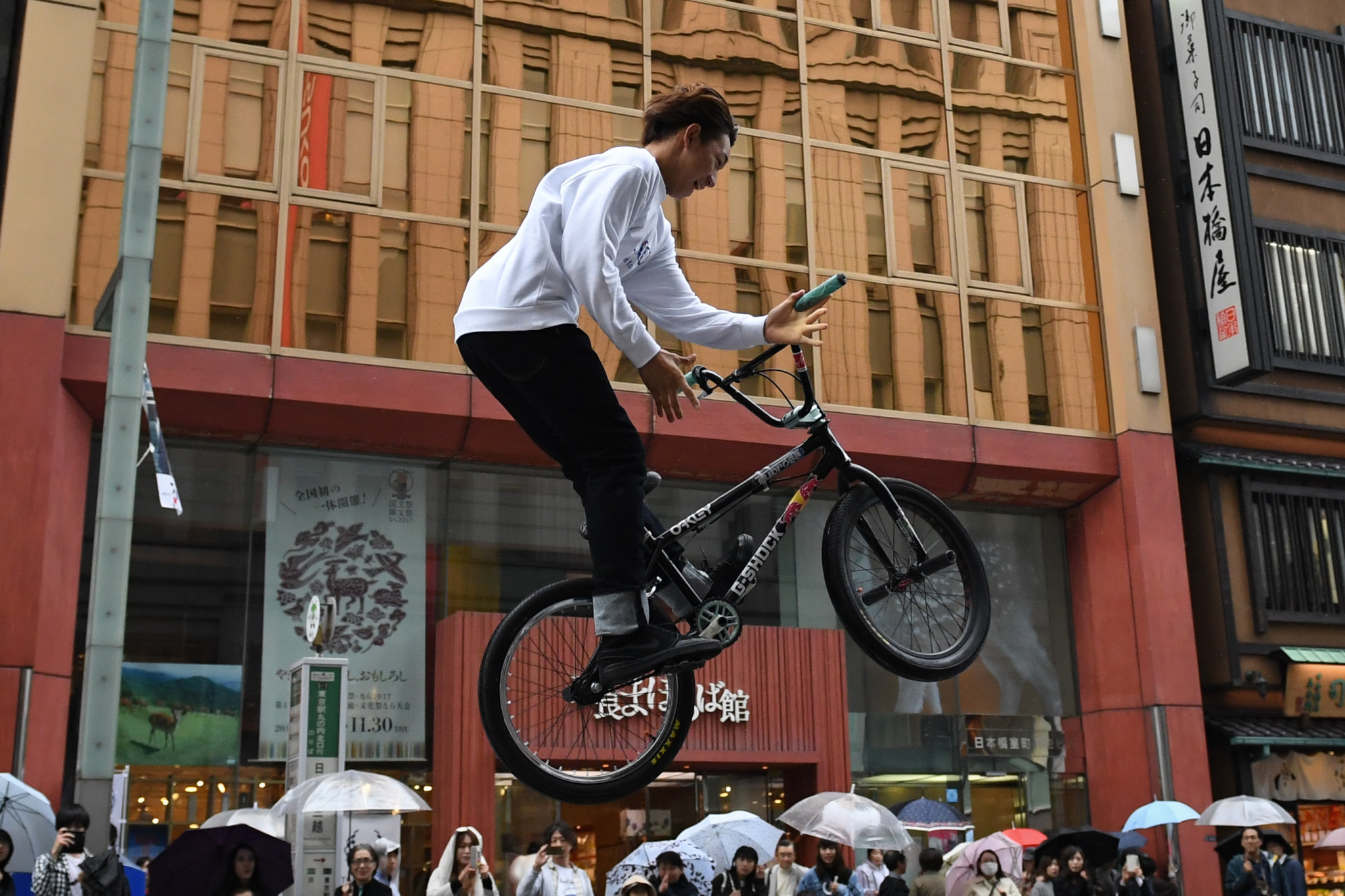 Tokyo 2020 and the IOC are in discussions over establishing zones to allow people to try urban sports ©Getty Images