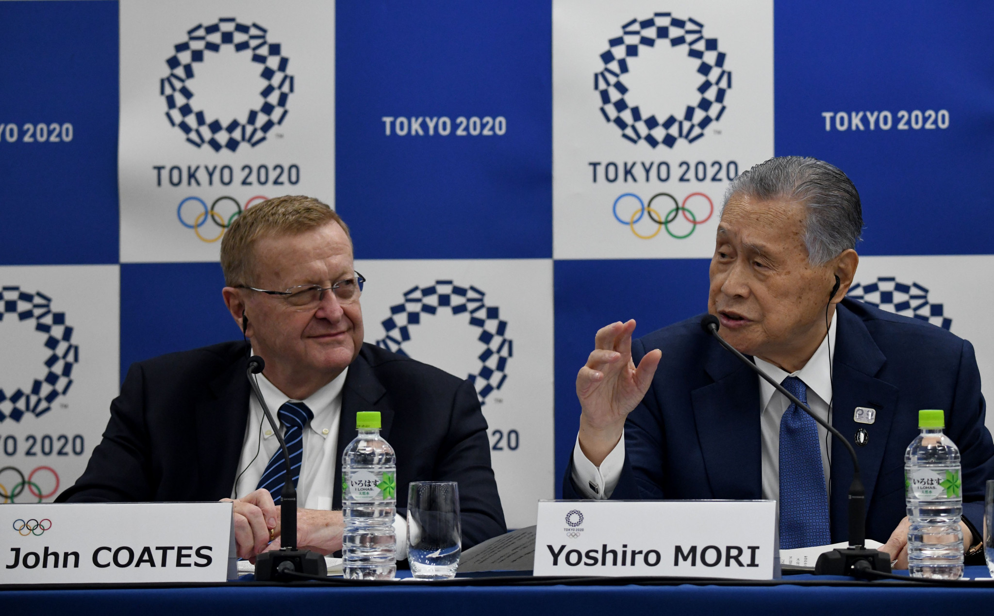 Yoshirō Mori stated an agreement was in place for the relocation of a fish market required for a ring road to begin next October ©Getty Images