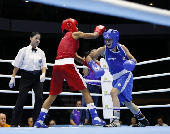 Olympian Mandy Bujold is among the seven boxers to have been nominated to represent Canada at the Gold Coast 2018 Commonwealth Games ©Commonwealth Games Canada/David Jackson