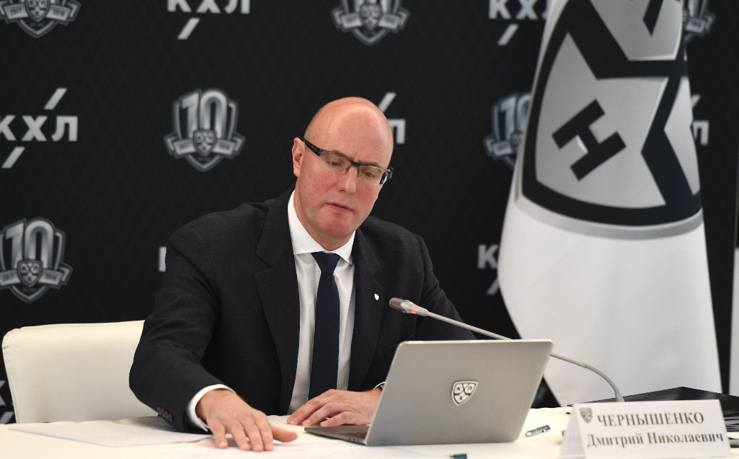 Dmitry Chernyshenko will lead the Organising Committee for SportAccord 2021 ©KHL
