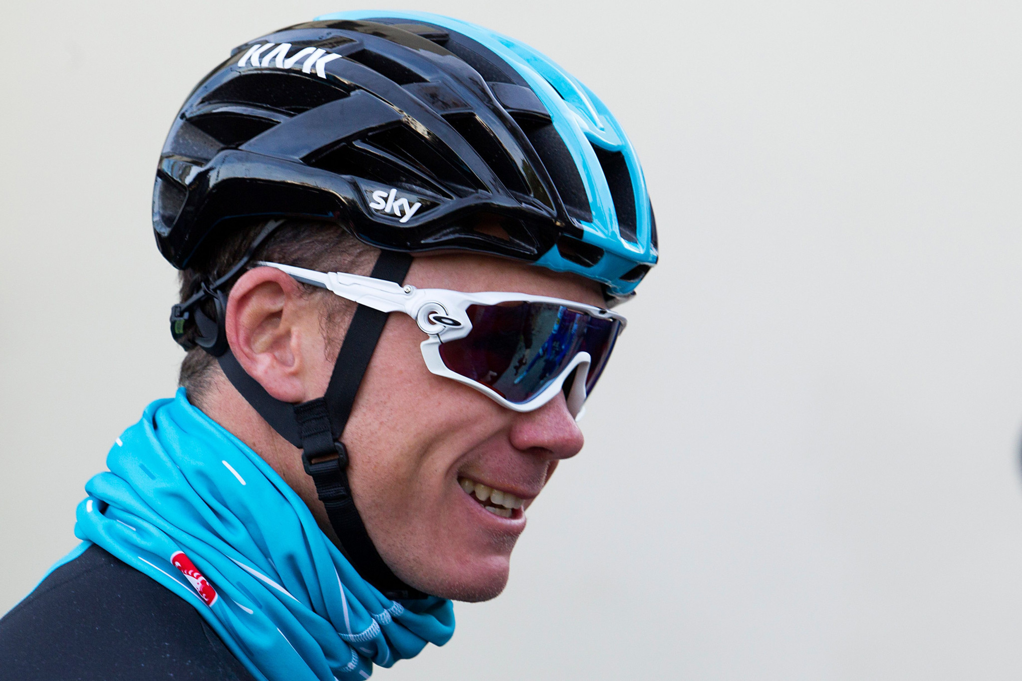 Chris Froome pictured during a training session today in Mallorca ©Getty Images
