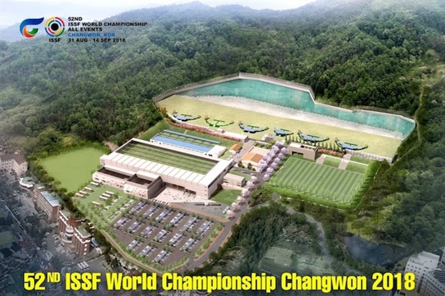 ISSF delegation visits Changwon to check on preparations for 2018 World Championship