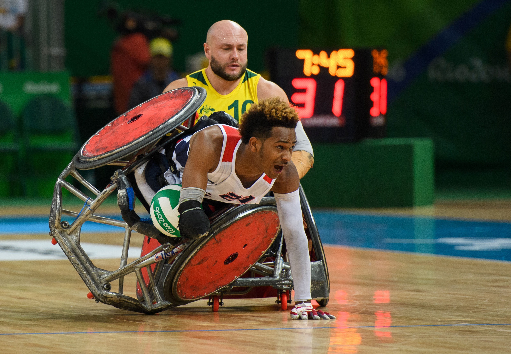 The IWRF has awarded a major wheelchair rugby event to Switzerland ©Getty Images