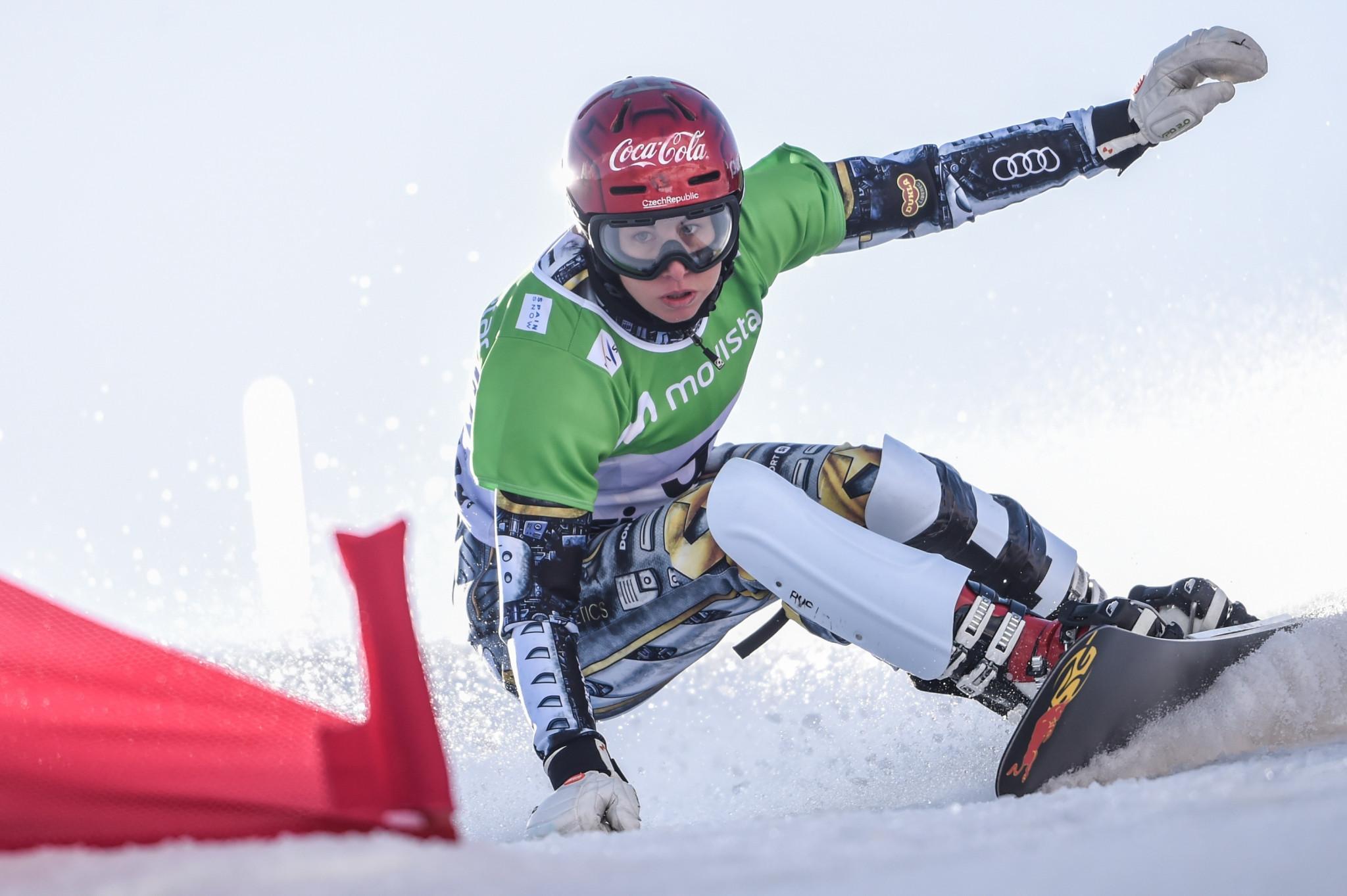 Ledecká and Sobolev triumph at FIS Alpine Snowboard World Cup season opener