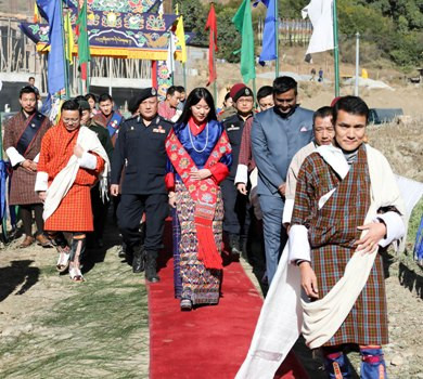 Bhutan Olympic Committee handover new hall as part of sport for all policy
