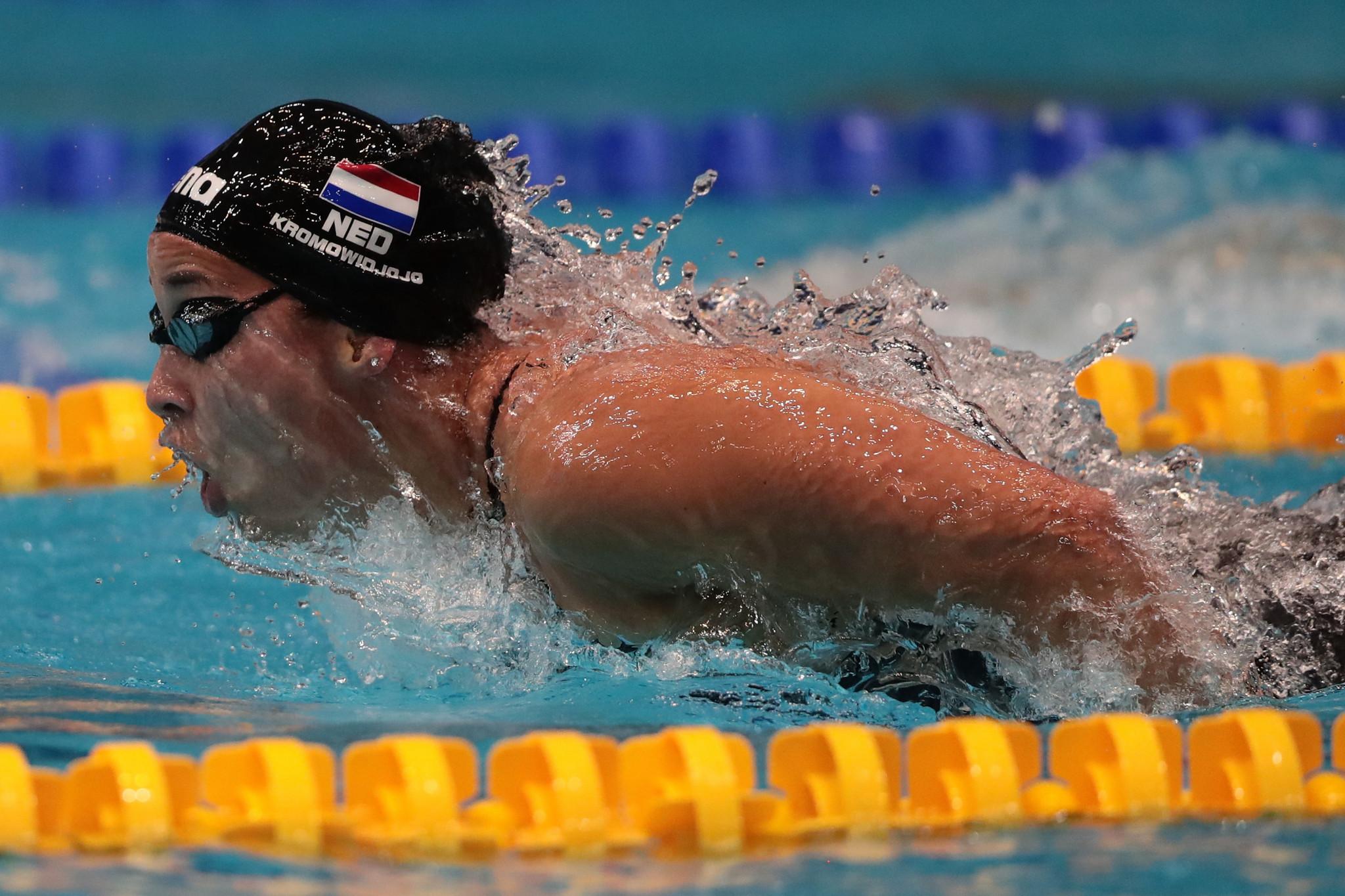 Kromowidjojo among winners on day two of European Short Course Swimming Championships
