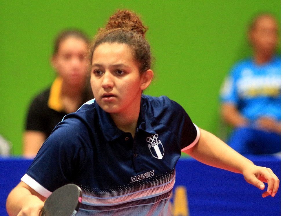 Guatemala dominated the men's and women's table tennis team events ©Managua 2017
