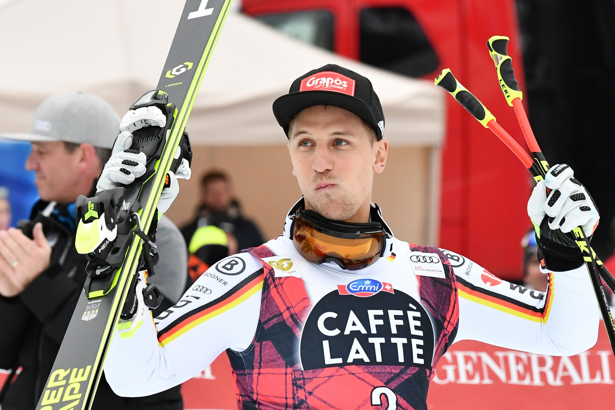 Germany's Ferstl wins weather-affected super-G at FIS Alpine Skiing World Cup in Val Gardena