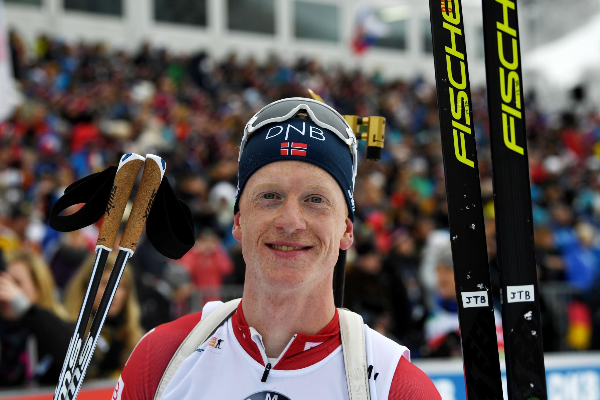 Bø tops men's 10km sprint podium at Biathlon World Cup in France