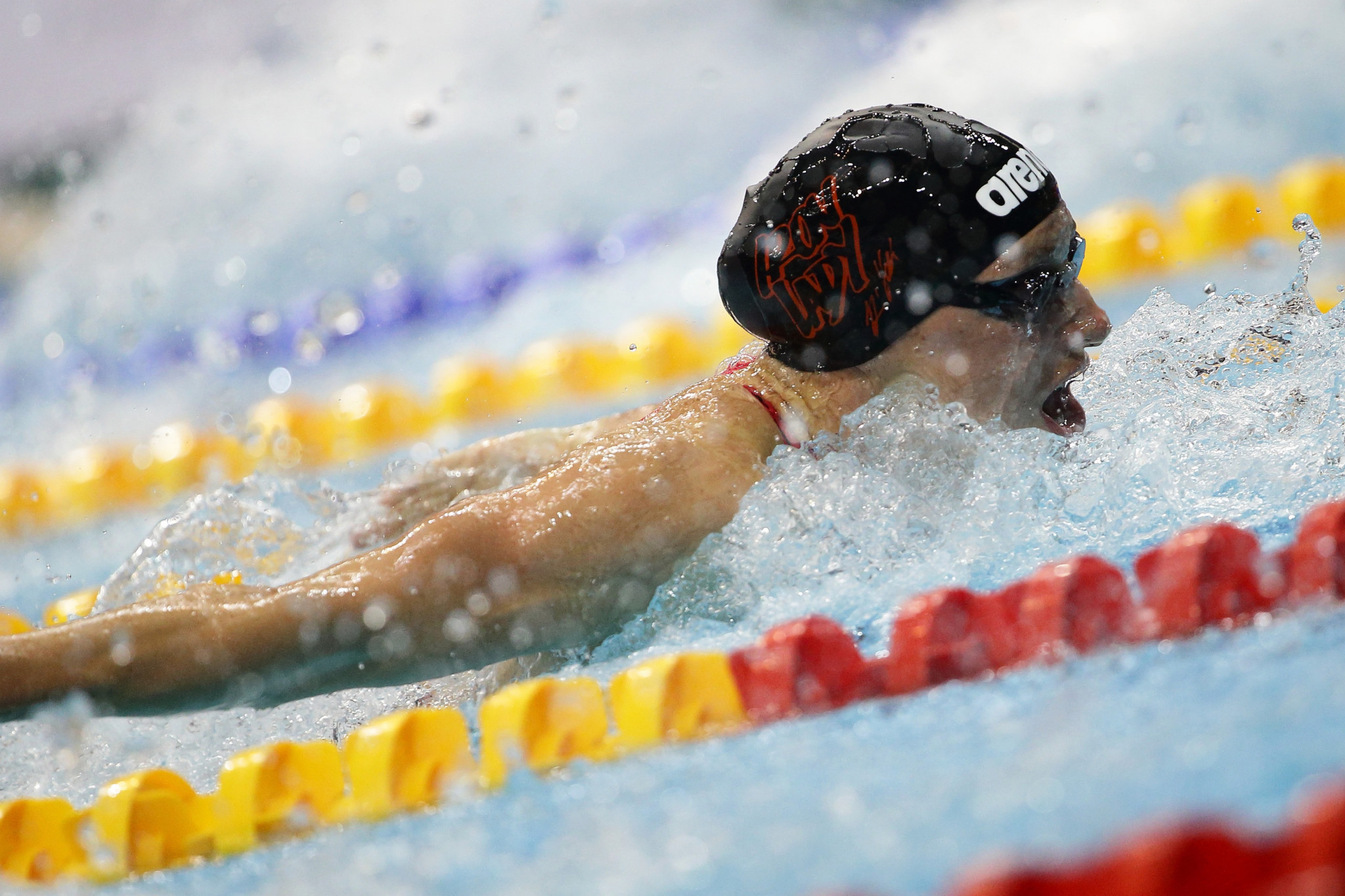 Hungary's Katinka Hosszú claimed two gold medals today ©Getty Images