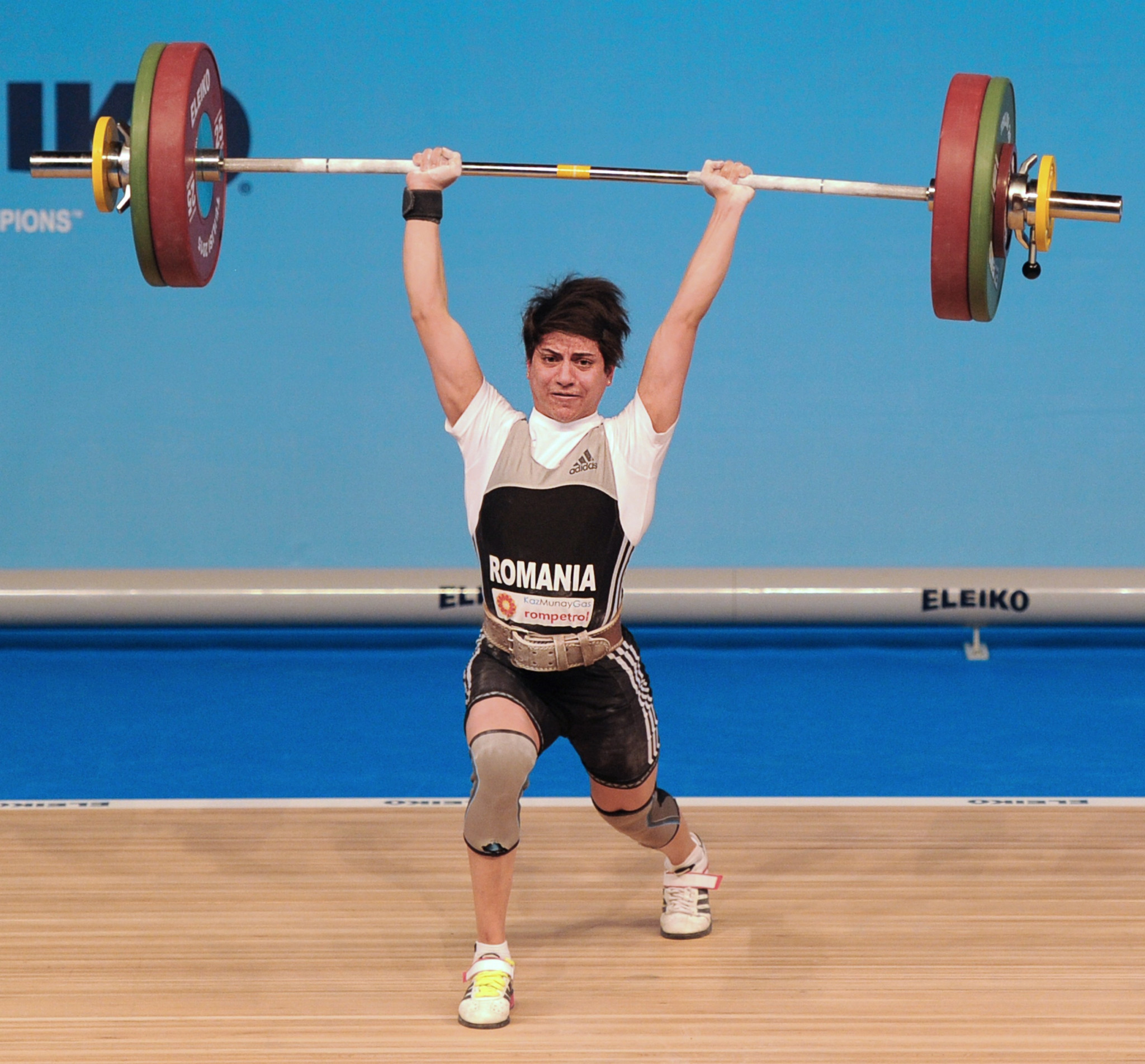 European silver medallist among six weightlifters to fail doping tests with Russian and two Ukrainians also on list