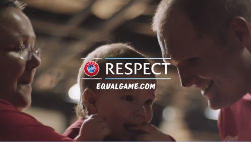 UEFA's #EqualGame initiative is designed to help disadvantaged people play football ©UEFA
