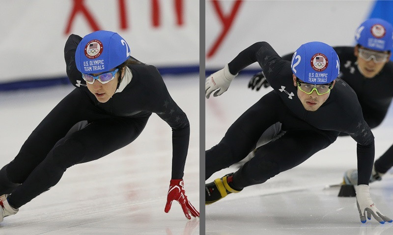 Gehring and Krueger first two short track athletes named to US Olympic team for Pyeongchang 2018
