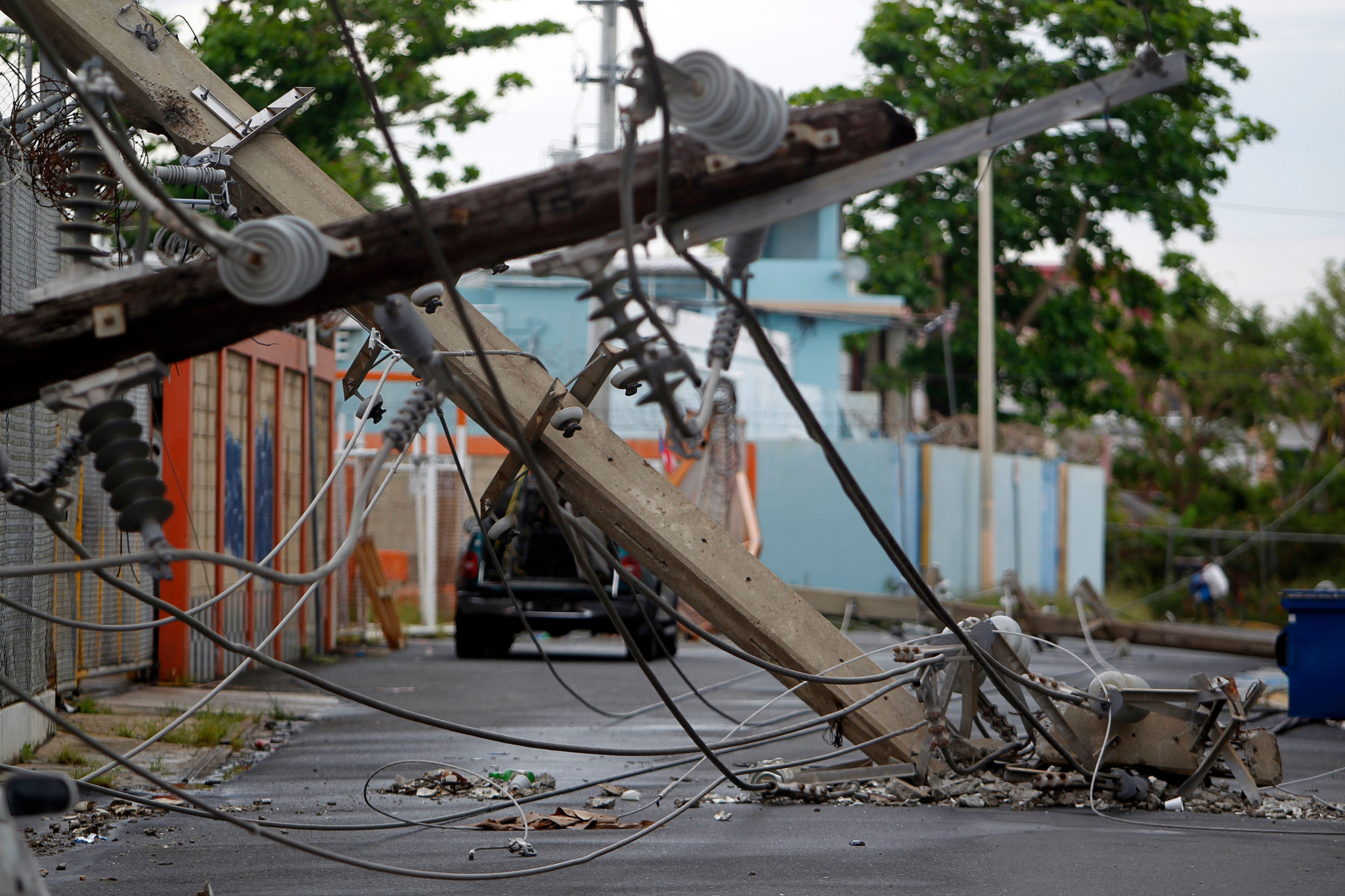 Hurriance Maria caused tremendous damage in Puerto Rico ©Getty Images