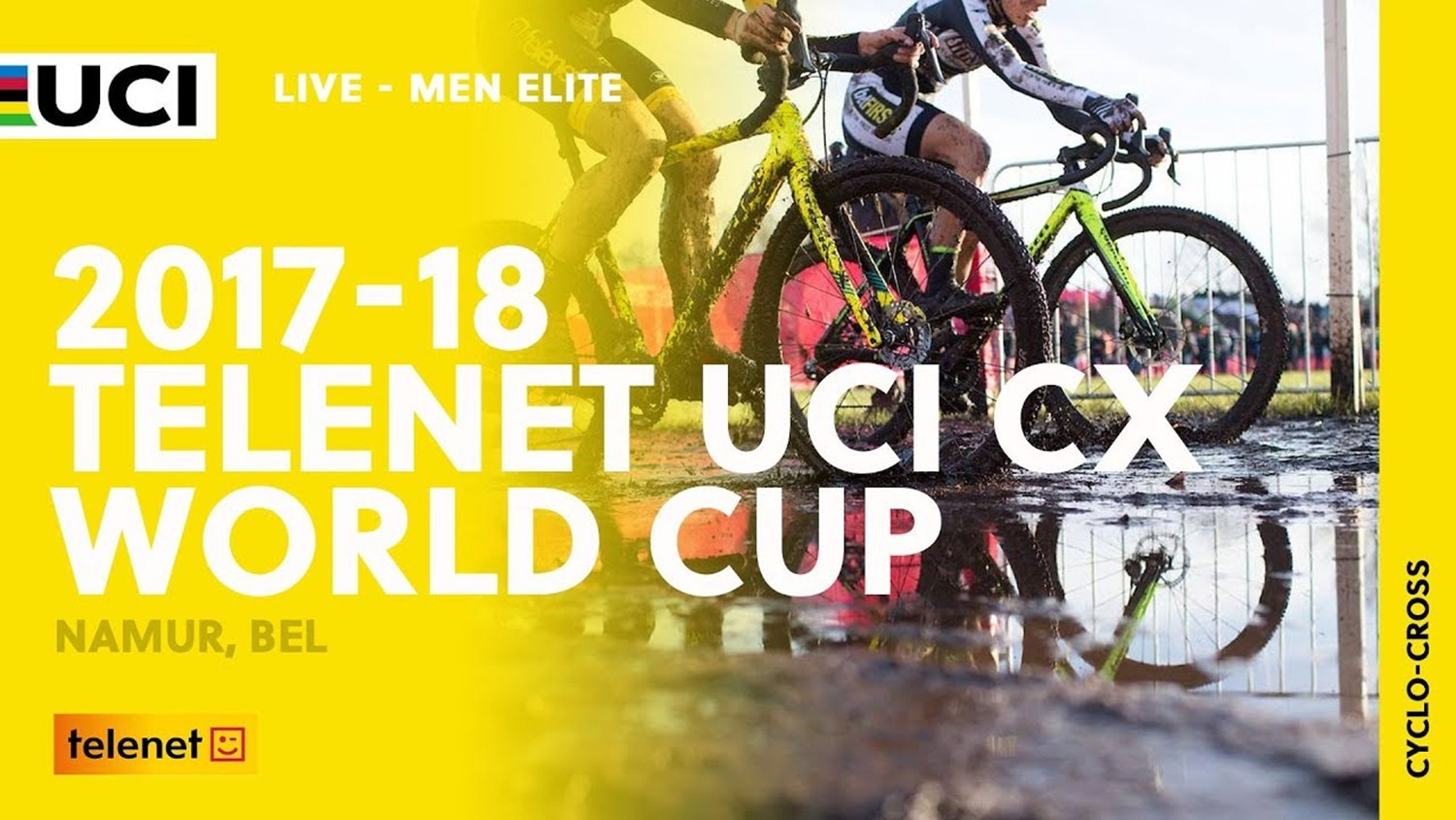 UCI Cyclo-cross World Cup set to continue in Belgium