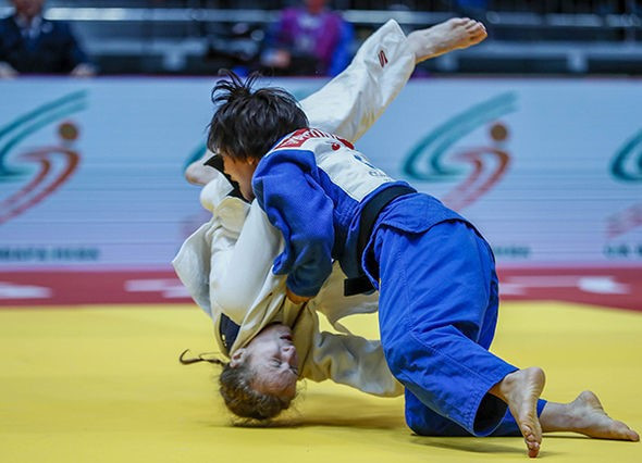 World champion Tonaki wins gold on IJF Masters debut