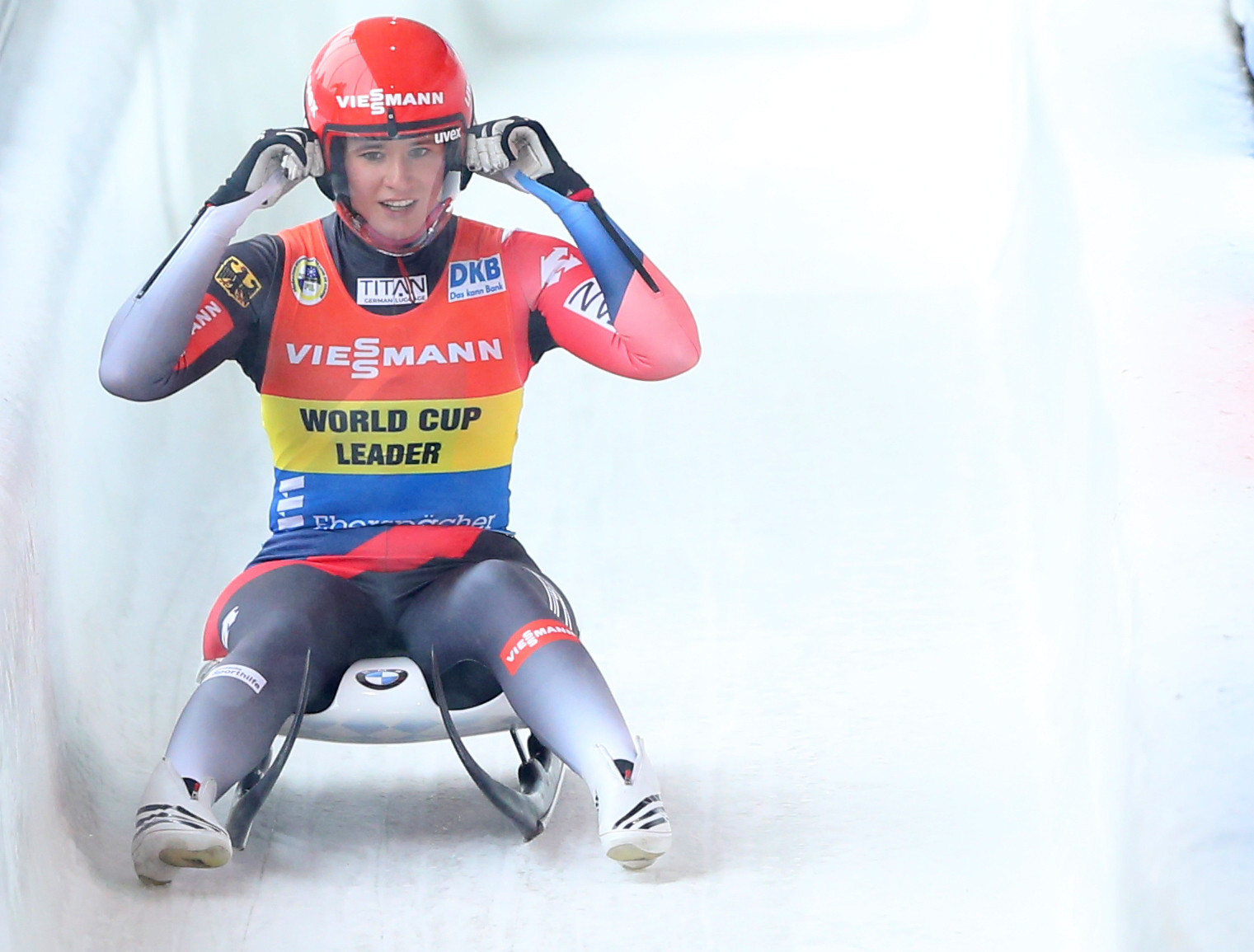 Natalie Geisenberger extended her lead at the top of the Luge World Cup rankings with victory in Lake Placid ©Getty Images