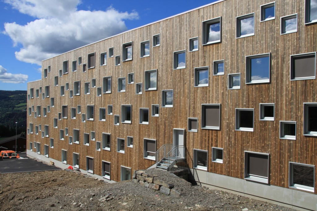 The new student accommodation in Lillehammer ©rn Hindklev, Byggeindustrien