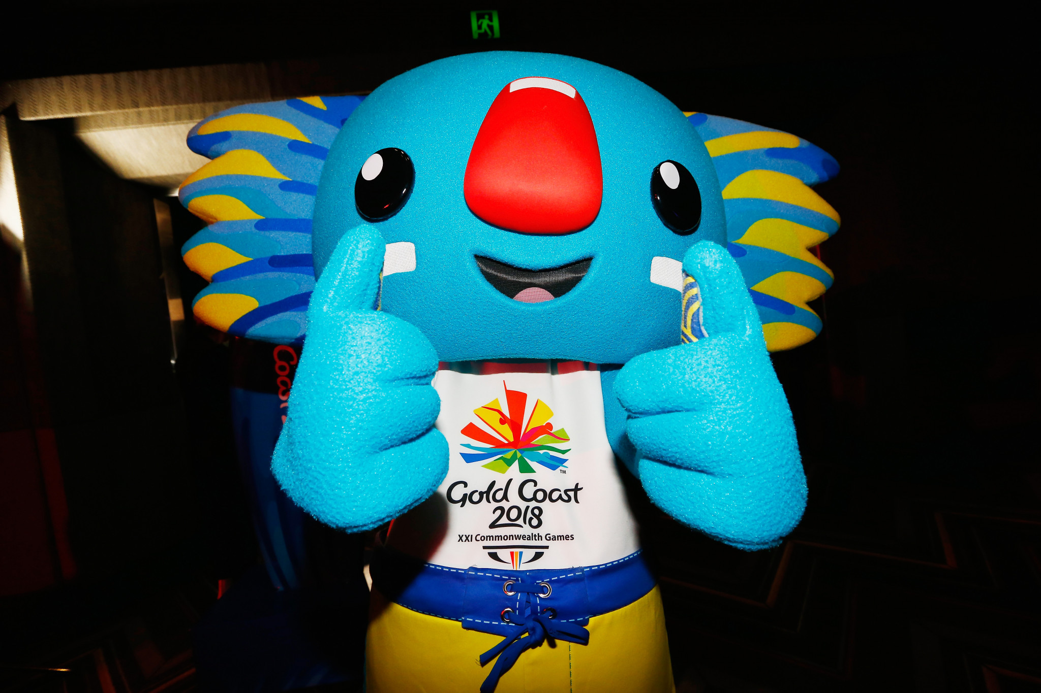 Borobi is the mascot for the 2018 Commonwealth Games in Gold Coast, Australia ©Getty Images
