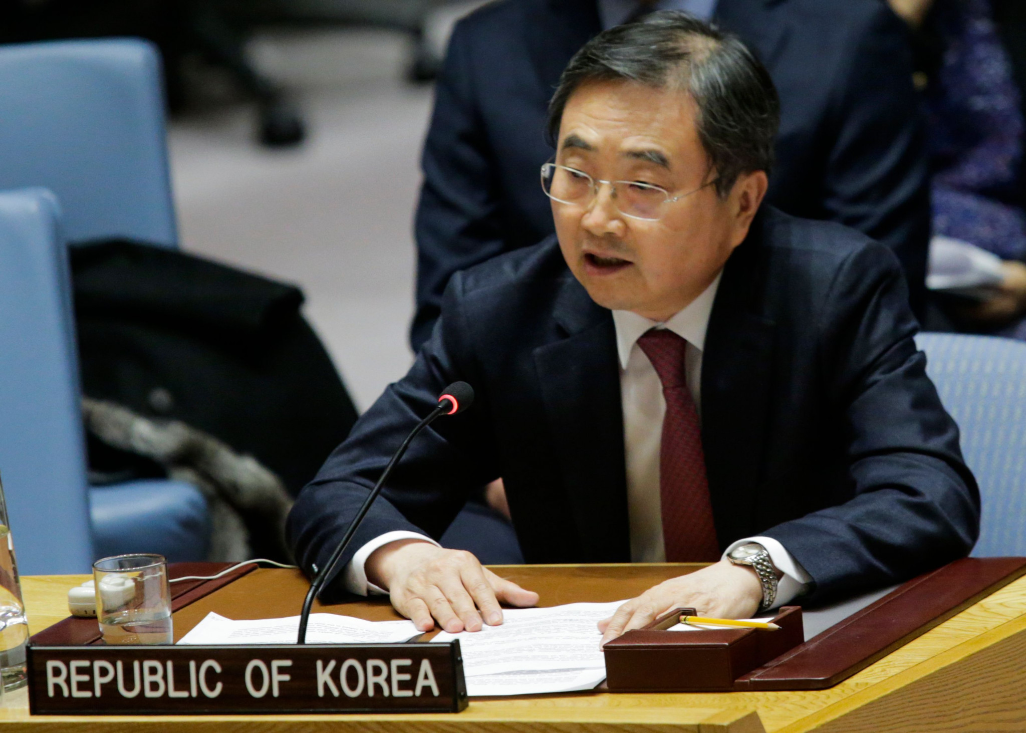 South Korea's Vice-Foreign Minister calls on North Korea to participate at Pyeongchang 2018
