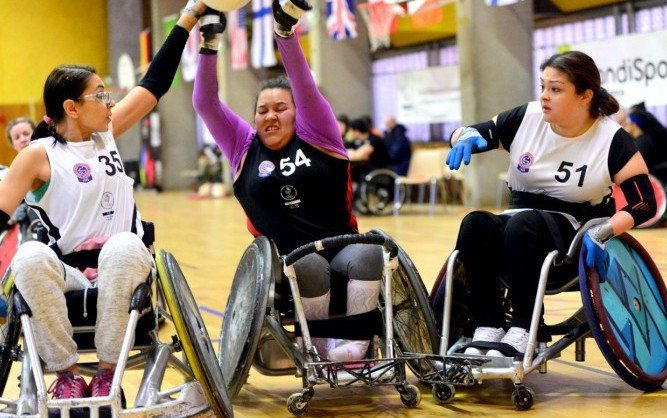 Fourth edition of wheelchair rugby's Women's Cup declared a success