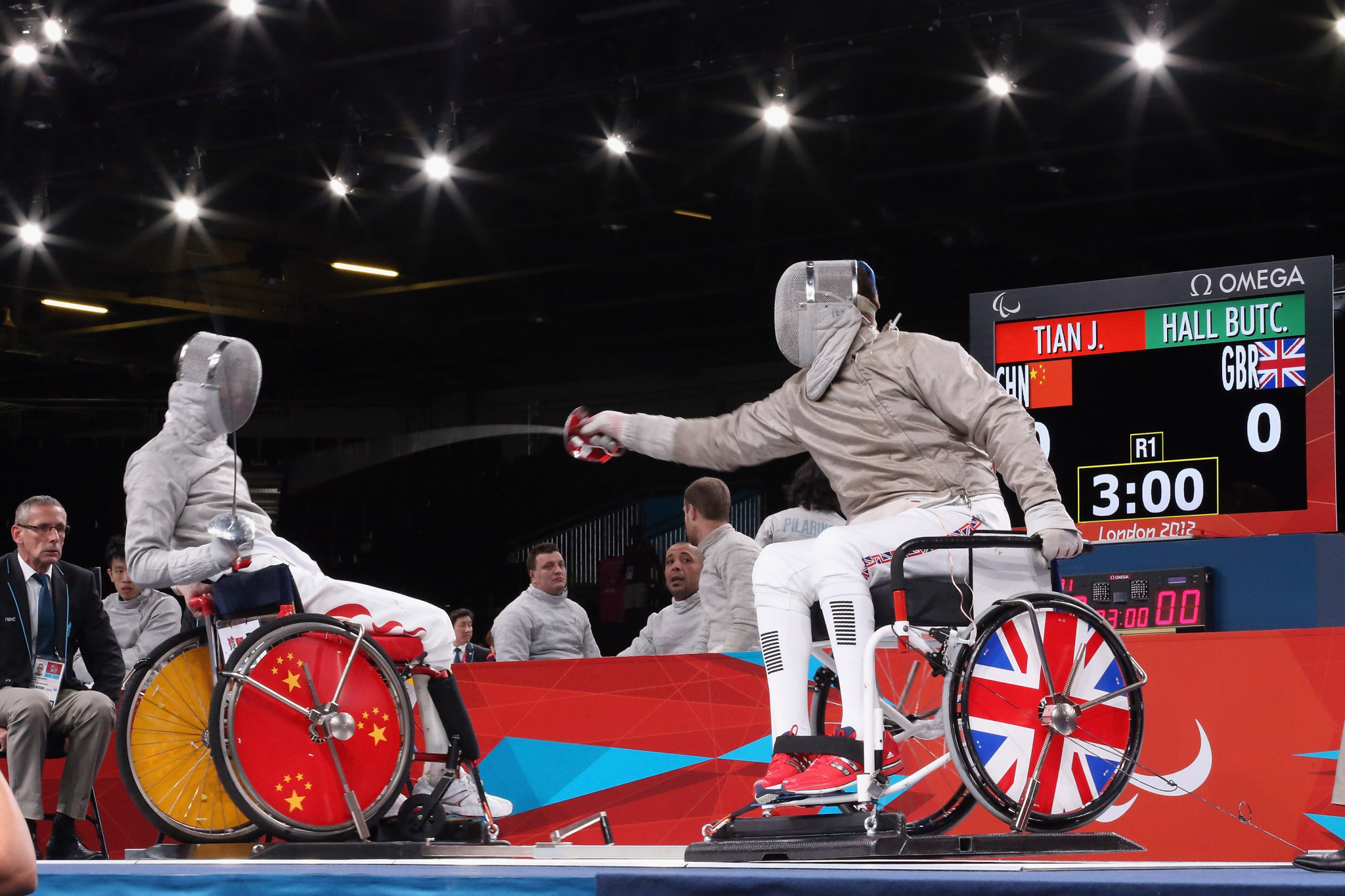 IWAS is to trial a new distance for sabre wheelchair fencing ©IWAS