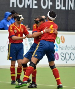 Holders Spain maintain 100 per cent start at IBSA Blind Football European Championships