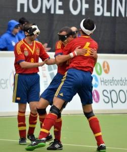 Holders Spain maintain 100 per cent start at IBSA Blind Football European Championships